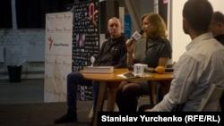 Ольга Скрипник на Международном фестивале документального кино о правах человека, 25 марта 2018 года