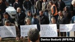 Štrajk radnika FAP-a u Priboju