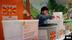 Pamje nga zgjedhjet lokale në Maqedoni