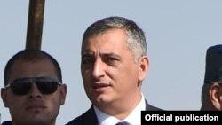 Начальник управления информации и по связям с общественностью Полиции Армении Ашот Агаронян (архив)