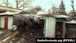 Наслідки обстрілу Донецька