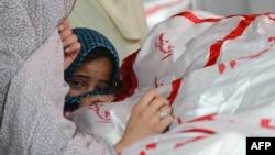 Прощання з загиблим у Кветті, 19 лютого 2013 року