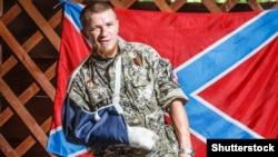 Гражданин России Арсен Павлов, боевик группировки «ДНР», известный по прозвищу «Моторола», Донецк, 11 июля 2014 года