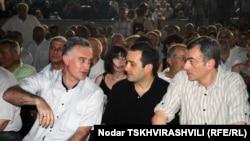 Умиротворяющая тишь и гладь царит в курятниках, принадлежащих грузинской оппозиции