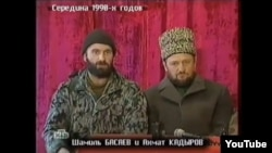 Шамиль Басаев и Ахмат-Хаджи Кадыров