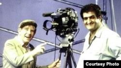 نرمن ویزدام با محمود اسکویی (راست)