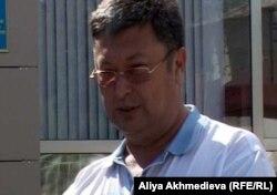 Депутат городского маслихата Руслан Валишанов. Талдыкорган, 21 мая 2012 года.
