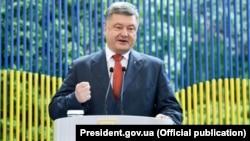 Петро Порошенко. Фото з прес-конференції, 3 червня 2016 року