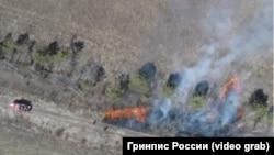 Машина пожарных и отжиги в Приамурье, перешедшие в природные пожары