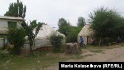 Окко учкан жоокерлерди акыркы сапарга узатуу зыйнатынан, Ак-Суу району. 22-август, 2012.