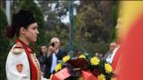 МАКЕДОНИЈА - Со високи државни почести, во речиси сите градови во Македонија, беше одбележан 23 Октомври - Денот на македонската револуционерна борба.