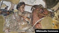 ალექსანდრე მაკედონელის მოზაიკა