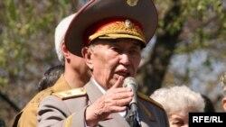 Ауғанстандағы соғысқа қатысқан генерал-майор Мұрат Қалматаев.