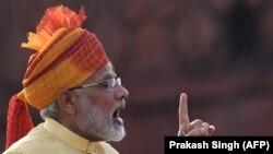 Hindistanyň premýer-ministri Narendra Modi, Nýu Deli, 15-nji awgust, 2017