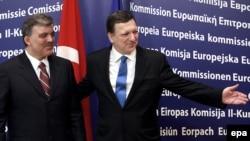 Түркиянын президенти Абдулла Гүл жана Еврокомиссиянын төрагасы Жозе Мануэл Баррозу