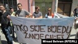 Protesti u BiH 7. juna 2013.