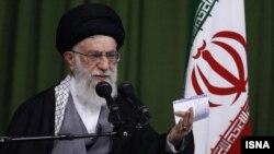 Иранның жоғарғы рухани көсемі аятолла Әли Хаменеи.