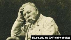 Марко Кропивницкий, украинский писатель, драматург, режиссер, актер, основатель украинского профессионального Театра Корифеев