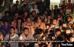 Скриншот видео о «джихадистах Казахстана в Сирии».