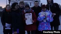 День каминг-аута в Москве, 2015 год. Фото с сайта Radarus.org