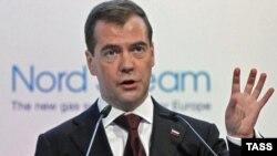 Дмитрий Медведев, Любмин, 8 ноября 2011