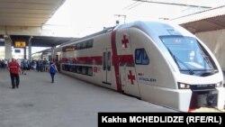 Поезд Тбилиси-Батуми (архивное фото)