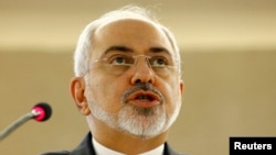 """If they want an agreement, sanctions must go,"" Iranian Foreign Minister Mohammad Javad Zarif said in Geneva."