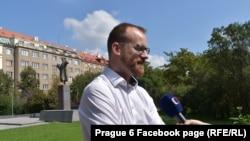 Кметът на шести район на Прага Ондрей Колар