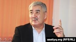 Оппозиционный политик Амиржан Косанов. Алматы, 10 декабря 2013 года.