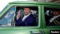 Chechnya's Ramzan Kadyrov took second prize this year.