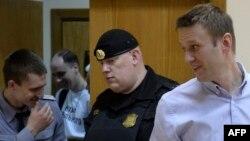 Алексей Навальный в Бабушкинском суде, 22 апреля 2014 года