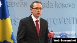 Ministri i Financave, Avdullah Hoti