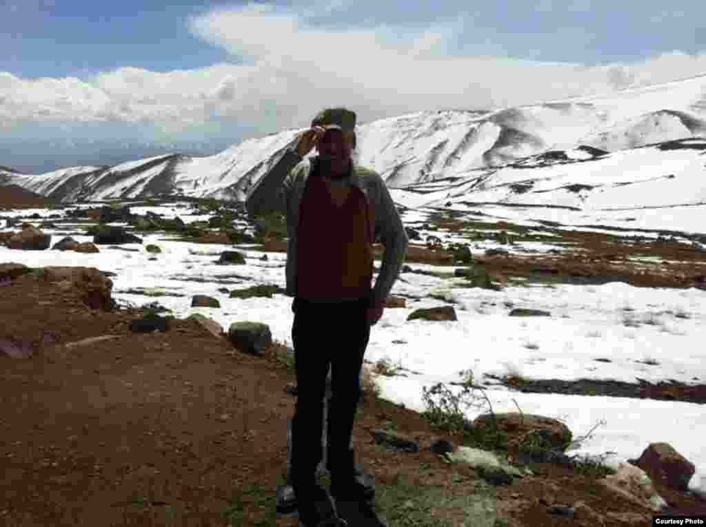 در سفر؛ کوه سبلان اردبیل
