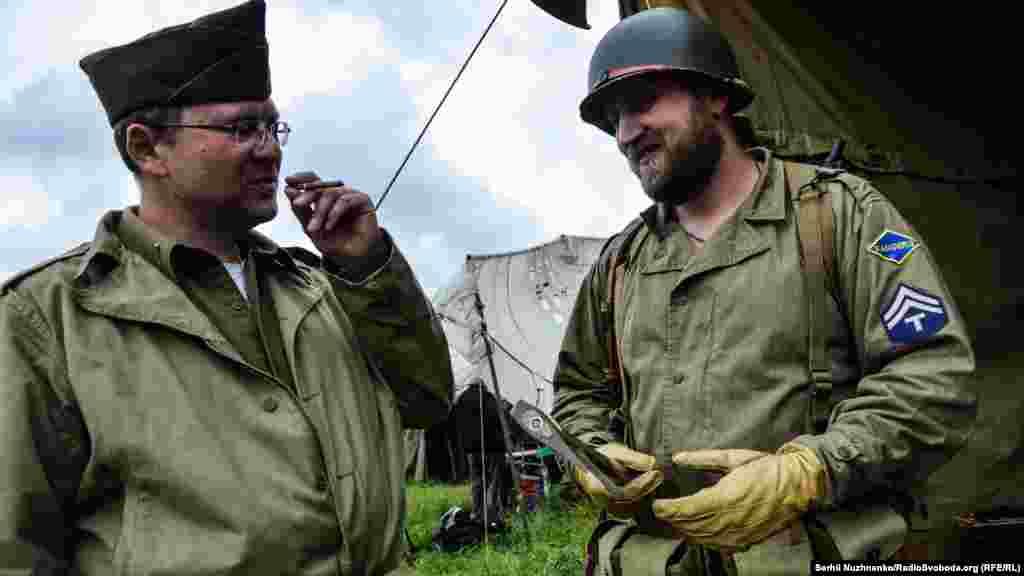 Військові рейнджери армії США на історичному фестивалі