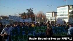 Марш за мир во Скопје.