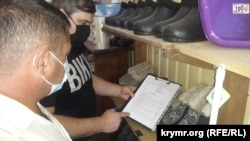 Сергій Акімов збирає підписи у Сімферополі