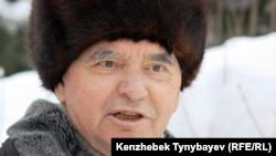 Герольд Белгер, қазақ жазушысы. Алматы, 27 желтоқсан 2009 жыл.