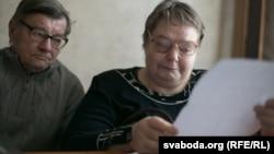 Бацькі Міхаіла Жызьнеўскага Ніна і Міхаіл