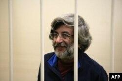 Андрей Аллахвердов на слушаниях в Калининском суде Петербурга. 18 ноября 2013 года