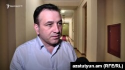 Член фракции «Мой шаг» Николай Багдасарян, Ереван, 12 июня 2019 г.