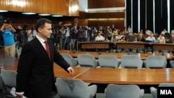 Kryeministri i Maqedonisë, Nikolla Gruevski (Foto arkiv)