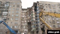 Thirty-nine people were killed in the partial building collapse in Magnitogorsk on December 31. (file photo)