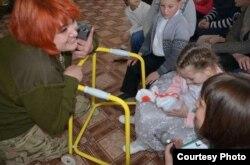 Вікторія в інтернаті для дітей з інвалідністю