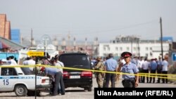 A suicide car bomber rammed the gates of the Chinese Embassy compound in Bishkek on August 30 before detonating an explosive device inside the car, killing himself and injuring three Kyrgyz employees of the embassy.