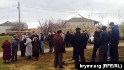 Обыск в доме Ахтема Чийгоза в Бахчисарае, 30 января 2015 года