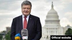 Украина президенті Петр Порошенко. Вашингтон, 21 маусым 2017 жыл.