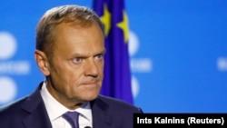 Глава Европейского Совета Дональд Туск.