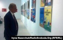 Посол Бельгії в Україні Алекс Ленартс на виставці у Музеї сучасного мистецтва Одеси