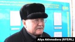 Рысбек Сарсенбай, брат убитого в 2006 году оппозиционного политика Алтынбека Сарсенбаева.
