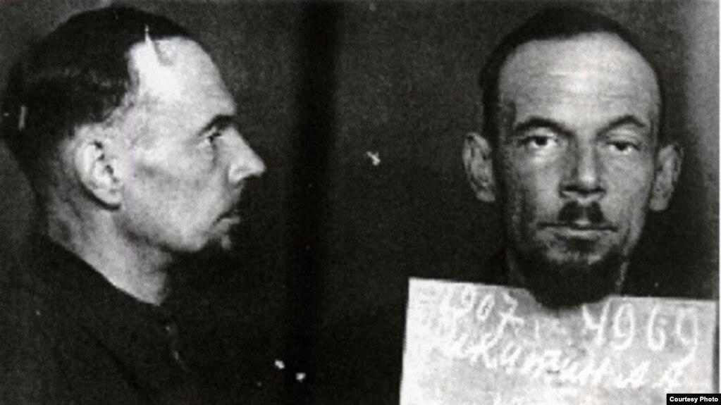 Александр Никитин после ареста. Фото из архива КГБ